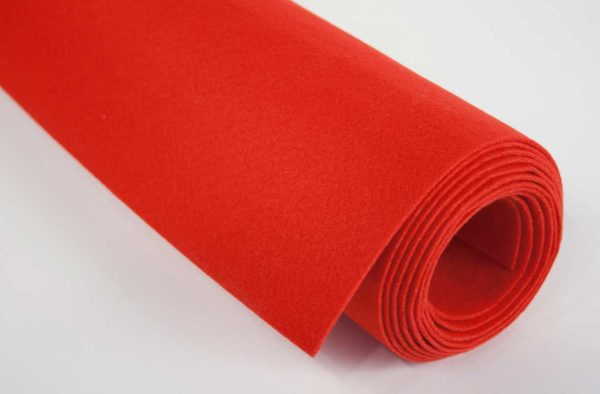 Part 1009 - Red Replacement Felt (36 in x 3 yds)