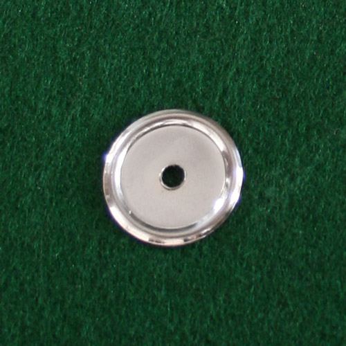 Part 1027 - Nickel Backplate for Drawer Knob