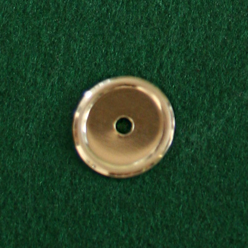 Part 1028 - Brass Backplate for Drawer Knob