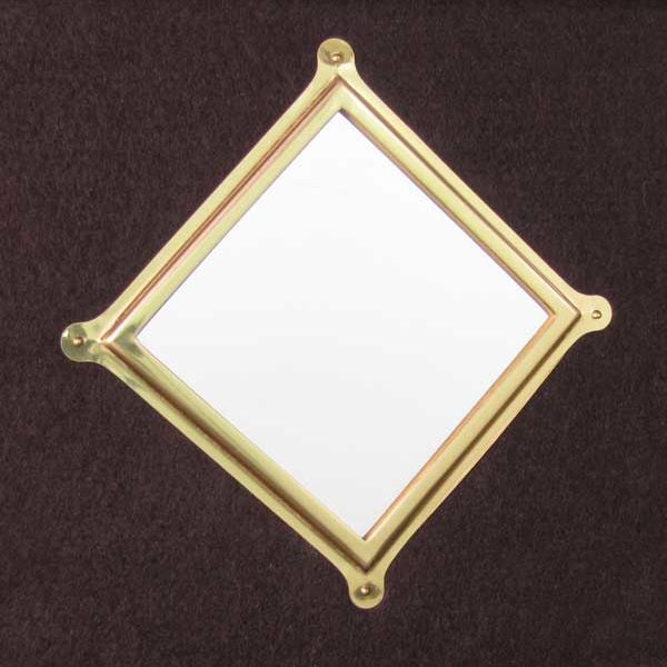 Part 1036 - Brass-Framed Mirror