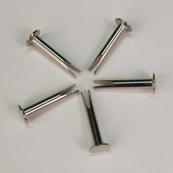 "Part 1039 - 7/8"" Nickel Split Rivets (Set of 5 Rivets)"