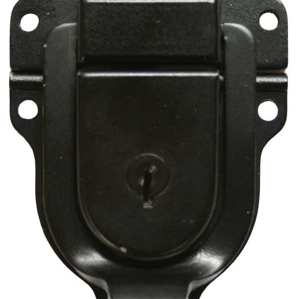 Part 1055 - Black Oxide Chest Lock (with Nickel Rivets)