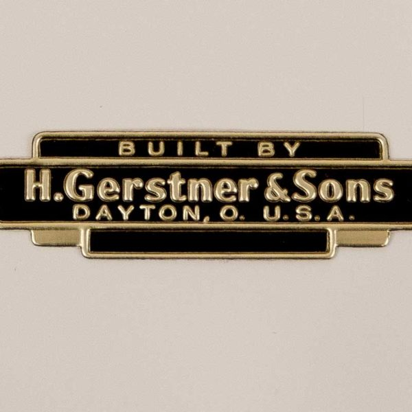 Part 1075 - Gerstner Foil Drawer Label (Older Style)