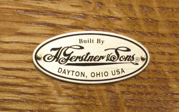 Part 1070 - Gerstner Oval Drawer Label (Older Style)