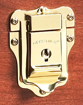 Part 1086 - Polished Brass Lock (with Rivets)